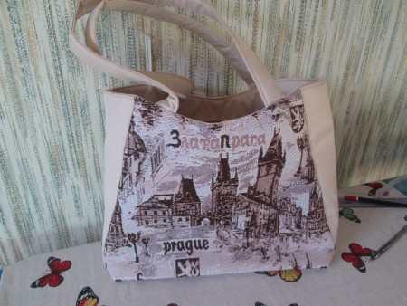 Мастер-класс по пошиву женской сумки №15